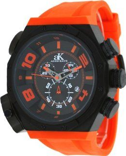 Adee Kaye #AK7777 MIPB Mens Oversized Black IP Titanium Double Time