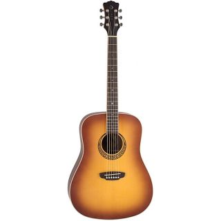 Luna Muse DN M BURST Acoustic Guitar