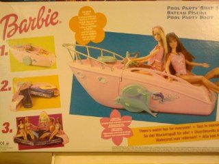 Barbie Pool Party Boat Toys & Games