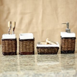 Frisco 4 piece Bath Accessory Set