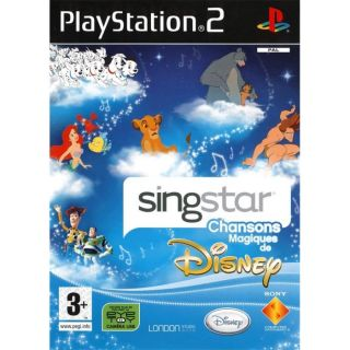 SINGSTAR DISNEY / JEU CONSOLE PS2   Achat / Vente PLAYSTATION 2