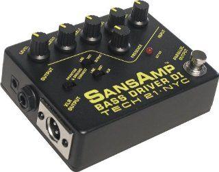 Tech 21 BSDR SansAmp Bass Driver DI: Musical Instruments