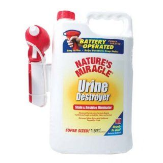 Natures Miracle Urine Destroyer Power Sprayer, 192 Ounce: Pet Supplies