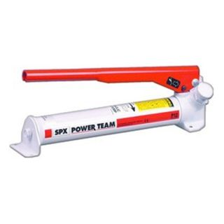 P12 1 stage POWER TEAM Hydraulic Hand Pump 12 Cubic Inch Oil Capacity