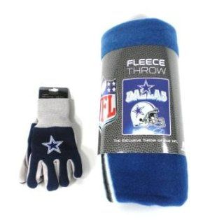 Dallas Cowboys NFL Kids Set   Fleece Blanket and Kids