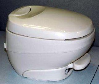RV Toilet Bravura Low Profile (Parchment)