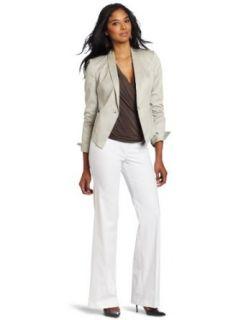 Anne Klein Collection Womens One Button Shawl Collar