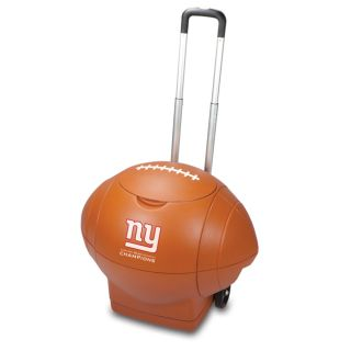 New York Giants Super Bowl Champions Rolling Football Cooler