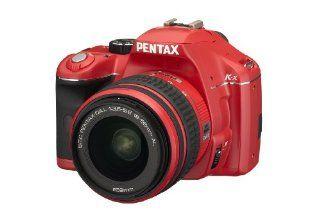 Pentax K x 12.4MP Digital SLR with 2.7 inch LCD and 18