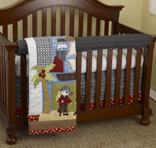 Tale Pirates 4 piece Crib Bedding Set Today $127.99