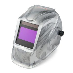 Lincoln K3029 1 Heavy Metal Viking Auto Darkening Welding Helmet 2450