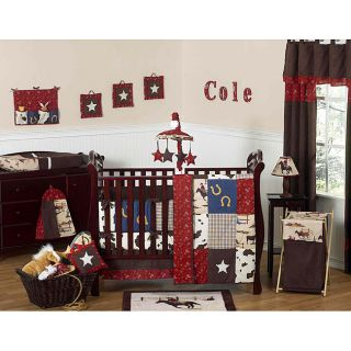 Sweet Jojo Designs Cowboy 9 piece Crib Bedding Set Today $199.99 5.0
