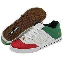 Emerica Reynolds 3 White/Green/Red