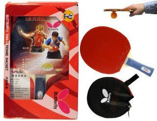 Butterfly 201 Shakehand Table Tennis Racket Sports