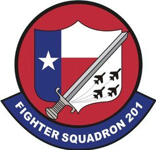 US Navy VF 201 Fighting 201 Squadron Decal Sticker 3.8