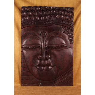 Hand Carved Eyes Open Buddha Panel (India) Today $274.99