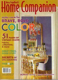 Mary Engelbreits Home Companion Magazine 2006 2007 Books