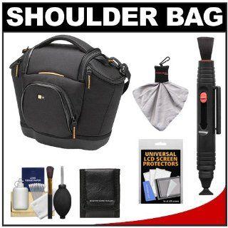 Logic Digital SLR Medium Shoulder Camera Bag/Case (Black) (SLRC 202