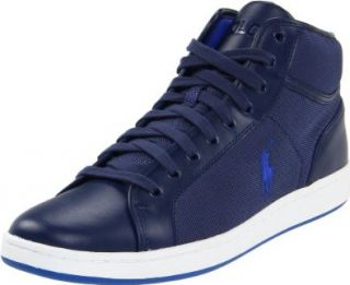 Polo Ralph Lauren Mens Trevose Mid Sneaker Shoes