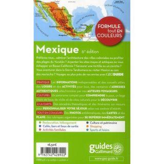 GEOGUIDE; MEXIQUE   Achat / Vente livre France Bourboulon   Herve