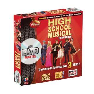 Jeu dvd High School Musical Compilation Mattel   Achat / Vente JEU D