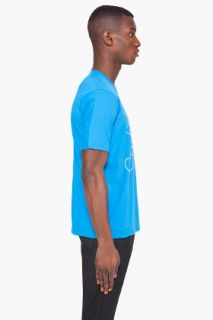 G Star Blue Walking Star T shirt for men