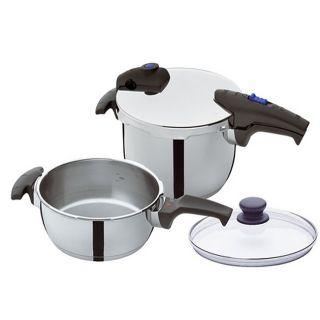 Fissler Blue Point Quattro Pressure Cooker Set