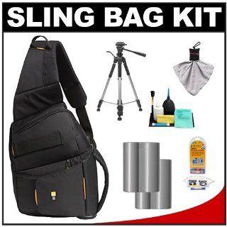 Case Logic Digital SLR Sling Camera Bag/Case (Black) (SLRC 205