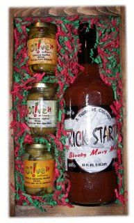Bloody Mary Mix Stuffed Olives Gift Set Grocery & Gourmet