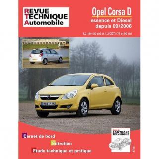 Rta b725.5 Opel Corsa 09/06 ess 1.2+ diesel 1.  Achat / Vente