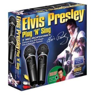 Emerson MM207E Dual Plug N Sing Karaoke Microphones with