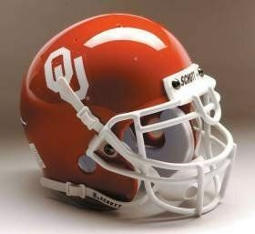 University of Oklahoma Norman OU Sooners   Football Helmet