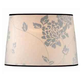 Laura Ashley SLD202 Isodore 14 Inch Drum Shade, Floral