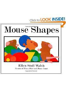 Mouse Shapes Ellen Stoll Walsh 9780152060916 Books