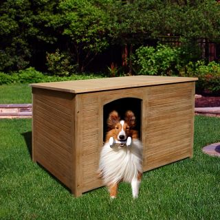 Renaissance Outdoor Hardwood Cabin Dog House
