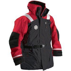First Watch AC 1100 Flotation Coat   Red/Black   Large