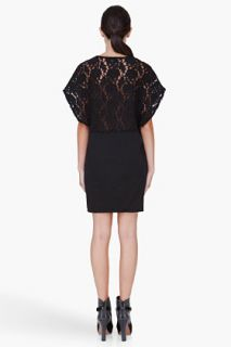 Diesel Black Lace Trim Dress for women