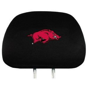 NCAA Arkansas Razorbacks Automotive Head Rest Covers