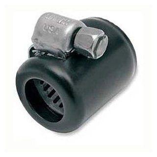Namz NHC B206 Black Hose Clamps For Harley Davidson 3/8 Oil Line