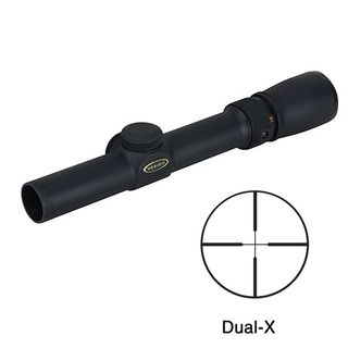 Weaver Classic V 1 3x20mm Dual X Reticle Rifle Scope