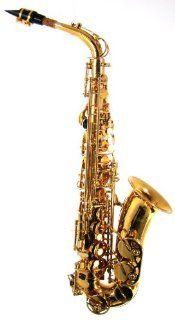 Barringon Model BR AS206 Sandard Alo Saxophone Lacquer