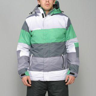 Zonal Mens Transit Fern Green Snowboard Jacket