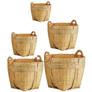 Cache pot en bambou, série de 5, JCP149S   Achat / Vente JARDINIERE