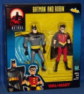 Batman and Robin Exclusive  Action Figure Two Pack