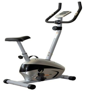 Vélo de Fitness Easy Fit 220 gris et noir. Vélo dappartement stable