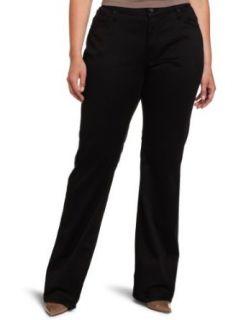 James Jeans Womens Plus Size Hunter Straight Leg Jean