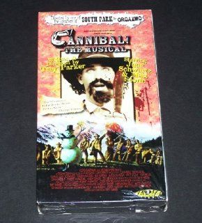 Cannibal the Musical [VHS] Dian Bachar, Stephen Blackpool