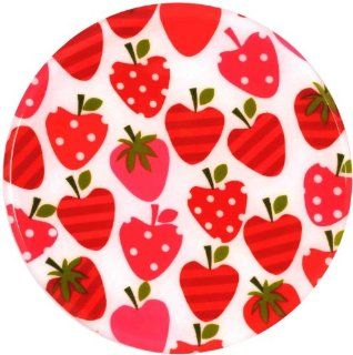 Andreas TR 208 8 Inch Silicone Trivet, Strawberry Hearts