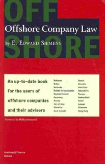 Offshore Company Law (Hardcover)