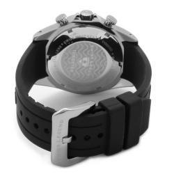 Swiss Legend Mens Tungsten Black Silicone Watch